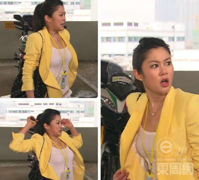 并留言话:「岑丽香是我《明珠生活》的好拍档和好